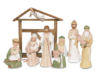 Gentle Souls Nativity by Gentle Souls - Set with Shepherd