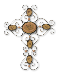 "Trust in the Lord by Outdoor Comfort - 9"" Wall Hanging Cross"