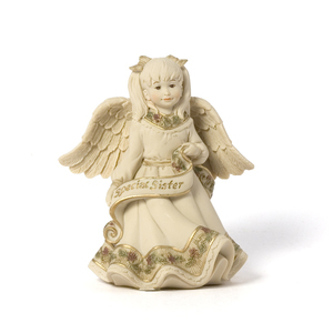"Special Sister Angel by Sarah's Angels - 4.5"" Special Sister Angel"
