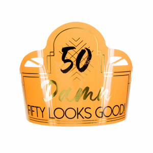 50 by Salty Celebration - Party Tiara