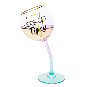 Tipsy by Salty Celebration - 11 oz Tipsy Stemmed Wine Glass