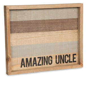 "Uncle by Man Made - 9"" x 7"" Tray"