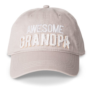 Grandpa by Man Made - Warm Gray Adjustable Hat