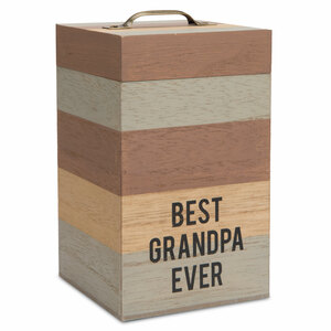 "Grandpa by Man Made - 6.25"" MDF Container"