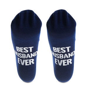 Best Husband by Man Made - Mens Cotton Blend Sock