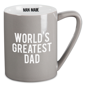 Greatest Dad by Man Made - 18 oz Mug