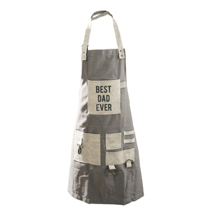 Best Dad by Man Made - Canvas Grilling Apron