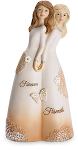 "Forever Friends by Light Your Way Every Day - 5.5"" Double Figurine"