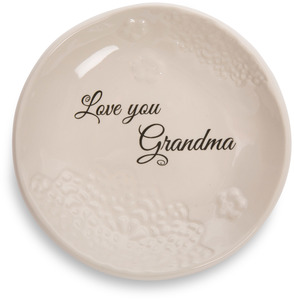 "Grandma by Light Your Way Every Day - 5"" Ceramic Plate"