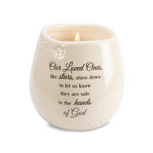 Loved One by Light Your Way Memorial - 8 oz - 100% Soy Wax Candle Scent: Tranquility