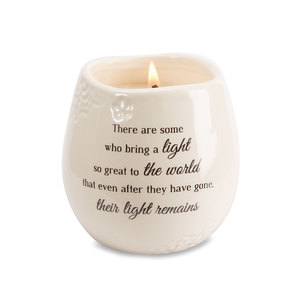 Light by Light Your Way Memorial - 8 oz - 100% Soy Wax Candle Scent: Tranquility