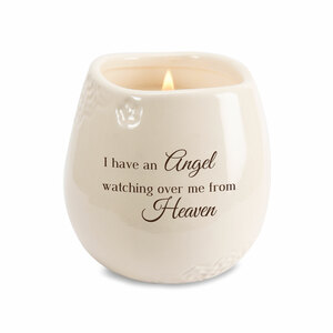 Heaven by Light Your Way Memorial - 8 oz - 100% Soy Wax Candle Scent: Tranquility