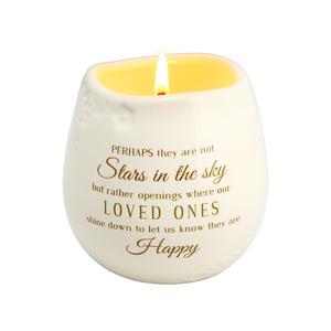 Stars in the Sky by Light Your Way Memorial - 8 oz - 100% Soy Wax Candle Scent: Tranquility