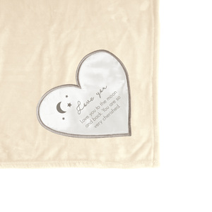 "Love You to the Moon by Comfort Blanket - 50"" x 60"" Royal Plush Blanket"