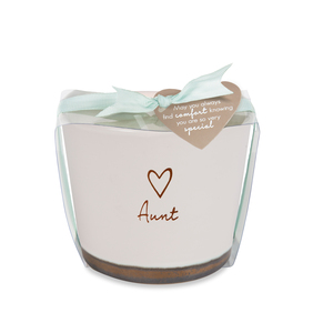 Aunt by Comfort Collection - 8 oz - 100% Soy Wax Candle Scent: Tranquility