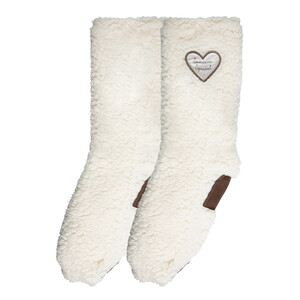 Someone Special by Comfort Collection - One Size Fits Most Sherpa Slipper