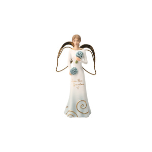 "Grandma by Comfort Collection - 5.5"" Angel Holding Flowers"