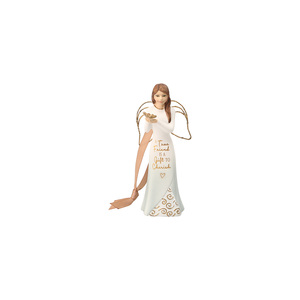 "Friend by Comfort Collection - 4.5"" Angel Ornament"