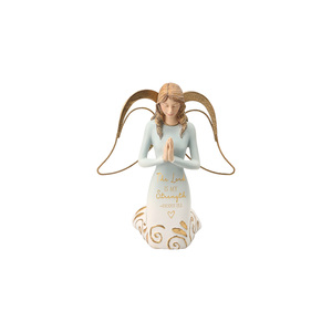 "Lord by Comfort Collection - 5"" Kneeling Angel Praying"