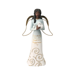 "EBN Friends by Comfort Collection - 7.5"" Angel Holding a Bunny"