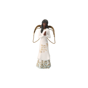 "EBN Mother by Comfort Collection - 5.5"" Angel with Clasped Hands"