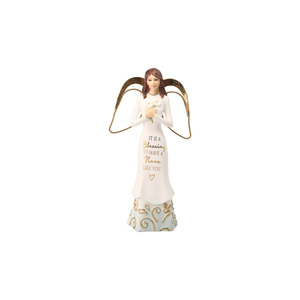 "Nana by Comfort Collection - 5.5"" Angel Holding Flowers"