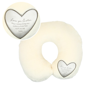 "Sister by Comfort Blanket - 12"" Royal Plush Neck Pillow"