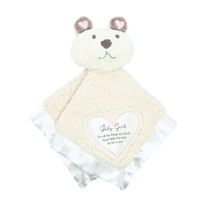 Baby Girl by Comfort Blanket - Sherpa Lovey Blanket