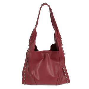 "Emma Bordeaux by H2Z Handbags - 12.5"" x 5"" x 14.5"" Handbag"