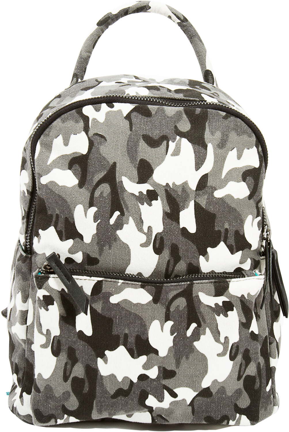 Alex Noir by H2Z Handbags - Alex Noir - Canvas Camo Backpack