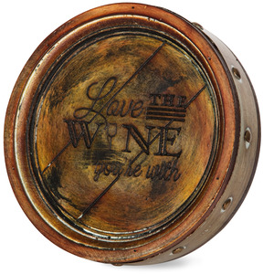 "Love the Wine You're With by Wine All The Time - 8"" Plaque"
