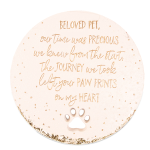 "Beloved Pet by Butterfly Whispers - 10"" Garden Stone"