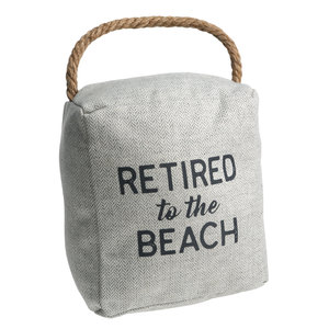 "Beach by Retired Life - 5"" x 6"" Door Stopper"