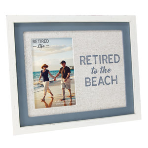 "Beach by Retired Life - 9.75"" x 8.25"" Frame (Holds 4"" x 6"" Photo)"