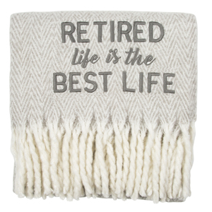 "Best Life by Retired Life - 50"" x 60"" Blanket"
