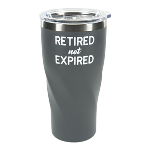 Not Expired by Retired Life - 24 oz Travel Mug