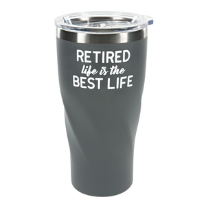 Best Life by Retired Life - 24 oz Travel Mug