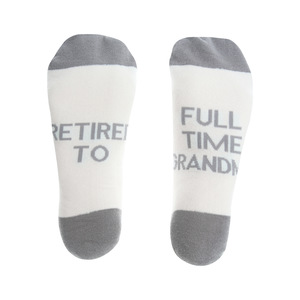 Full Time Grandma by Retired Life - M/L Cotton Blend Sock