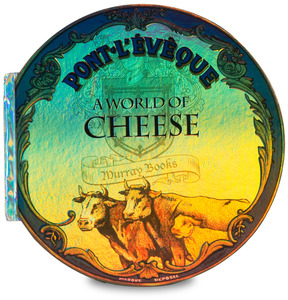 "A World of Cheese by Toots Gift Books - 11.5"" Gift Book, Cheese Fragrance"