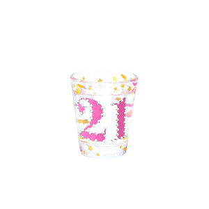 21 by Empress - 2 oz Gemstone Shot Glass