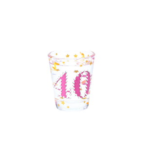 40 by Empress - 2 oz Gemstone Shot Glass