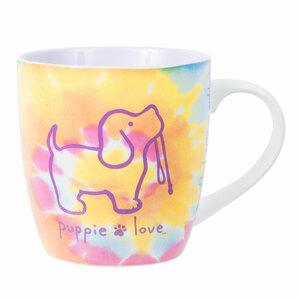 Tie Dye by Puppie Love - 17 oz Cup