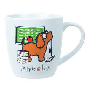 Teacher by Puppie Love - 17 oz Cup