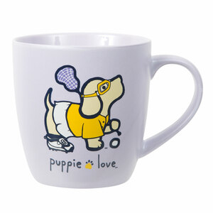 Lacrosse by Puppie Love - 17 oz Cup