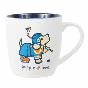 Hockey by Puppie Love - 17 oz Cup