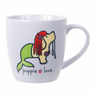 Mermaid by Puppie Love - 17 oz Cup