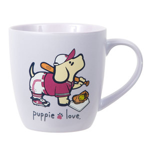 Softball by Puppie Love - 17 oz Cup