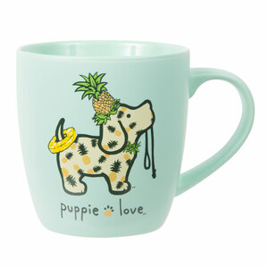Pineapple by Puppie Love - 17 oz Cup