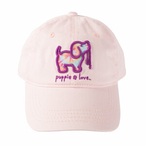 Tie Dye by Puppie Love - Light Pink Adjustable Hat