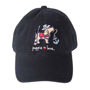 Lake by Puppie Love - Navy Adjustable Hat